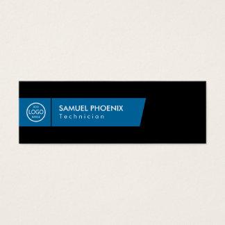 Modern | (Blue) Mini Business Card