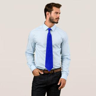 Modern Blue Pasmore Ripple Pattern Woven Tie