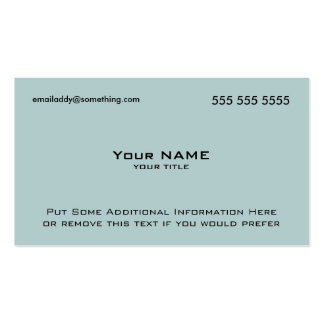 Modern Blue QR Code Double-Sided Standard Business Cards (Pack Of 100)