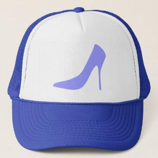 MODERN BLUE STILETTO HEELS TRUCKER HAT