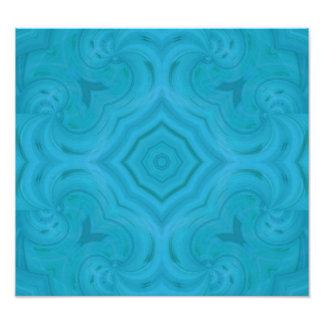 Modern blue wood pattern photograph