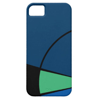 Modern Bluemore iPhone SE/5/5s Case