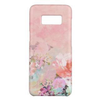 Modern blush watercolor ombre floral watercolor Case-Mate samsung galaxy s8 case
