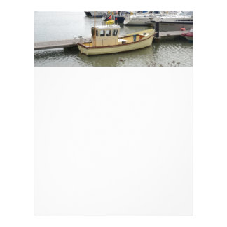 Modern Boat Traditional Style Letterhead Template
