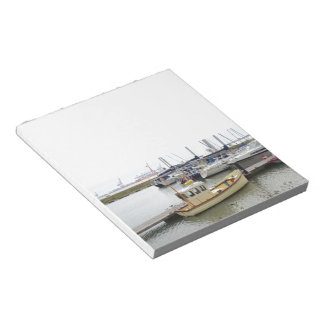 Modern Boat Traditional Style Notepad