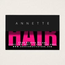 Modern bold elegant shade look business card