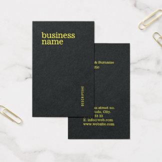 Modern Bold Professional Minimalist Template Business Card