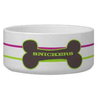 Modern Bone Grape Vine Personalized Bowl
