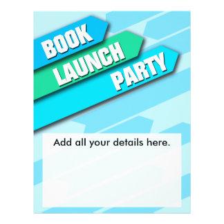 Modern Book Launch Flyer