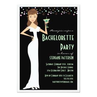 """Modern Bride Bachelorette Party Invitation 5"""" X 7"""" Invitation Card"""