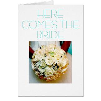 Modern Bride-Invitation Card