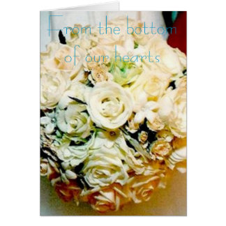 Modern Bride-Thank You! Greeting Cards