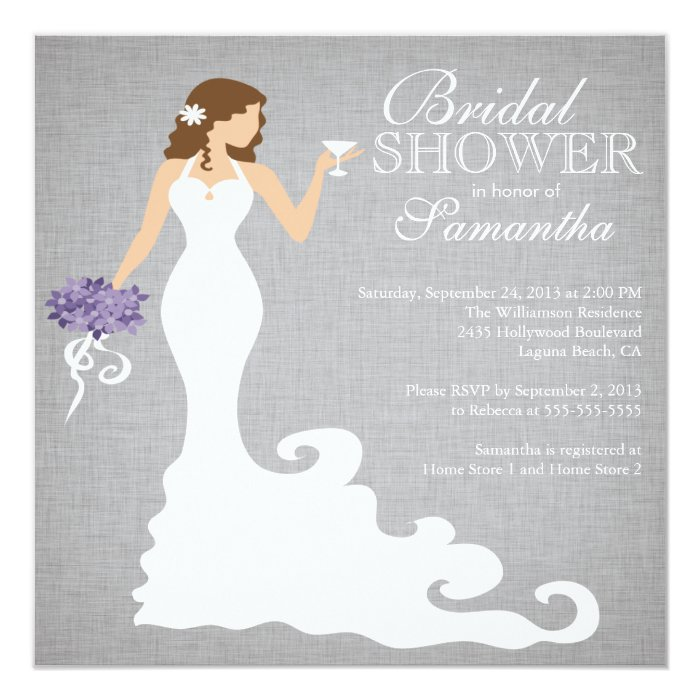 modern bride wine bridal shower invitations zazzle