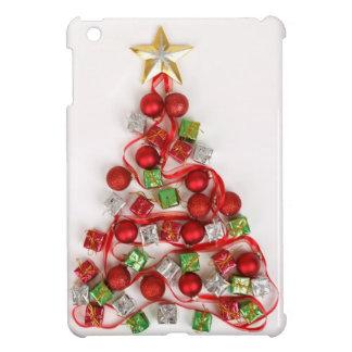 Modern Bright Christmas Tree Decorations Ornaments iPad Mini Case