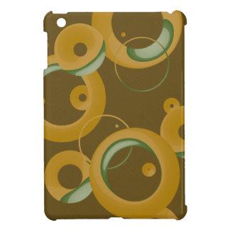 Modern Bubbles iPad Mini Case - Olive