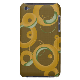 Modern Bubbles Olive iPod Touch Cover