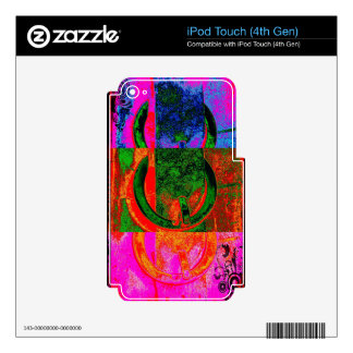 Modern Buckles iPod Touch 4G Skin