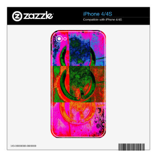 Modern Buckles Skins For The iPhone 4S