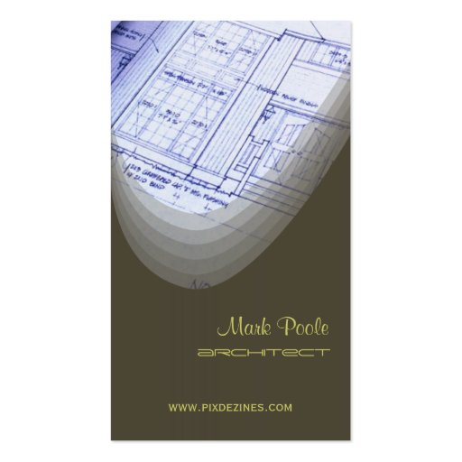 Modern Builders/architects business cards