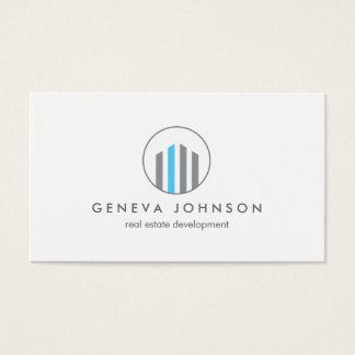Modern Buildings Logo for Real Estate, Realtors Business Card