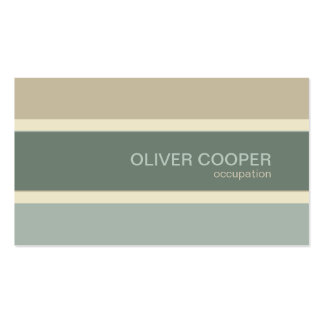 Modern business card Earth colors Sage Moss green