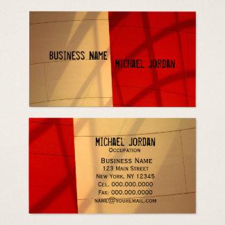 Modern Business Card ~ Modern Masculine RETRO