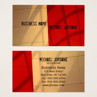 Modern Business Card - Modern Masculine RETRO