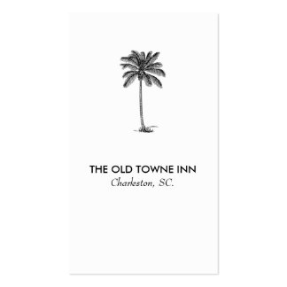 Modern Business Card No. 70 | Vintage Palm Tree