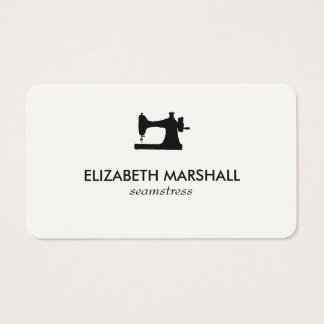 Modern Business Card No. 73 | Sewing Machine