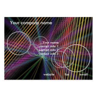 Modern Business Large Business Cards (Pack Of 100)