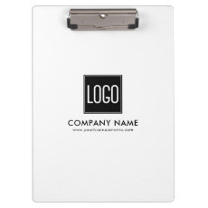 Modern Business Logo | Corporate Company Clipboard