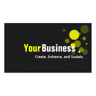 Modern Business Management Design Software Double-Sided Standard Business Cards (Pack Of 100)