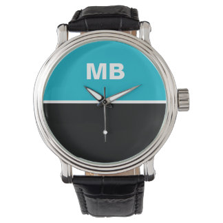 Modern Business Men's Monogram Wrist Watch