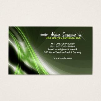 modern business's business card