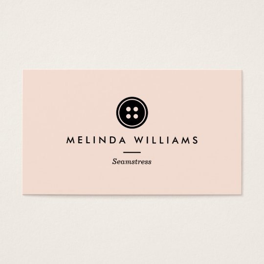 Modern button logo seamstress sewing tailor iii business card modern button logo seamstress sewing tailor iii business card reheart Choice Image