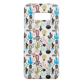 Modern Cactus Geometric Pattern Case-Mate Samsung Galaxy S8 Case