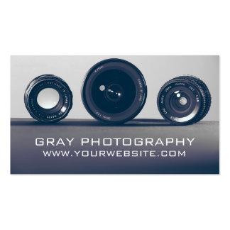 Modern Camera Photography Business Card