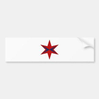 Modern Captain Chicago Logo Bumper Sticker