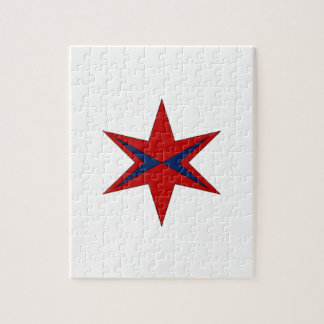 Modern Captain Chicago Logo Jigsaw Puzzle