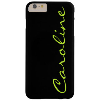 Modern Casual Monogram Personalized Barely There iPhone 6 Plus Case