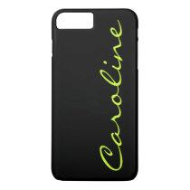 Modern Casual Monogram Personalized iPhone 8 Plus/7 Plus Case