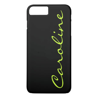 Modern Casual Monogram Personalized iPhone 8 Plus/7 Plus Case