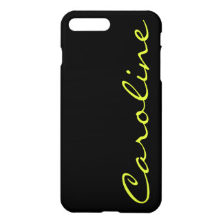 Modern Casual Monogrammed iPhone 7 Plus Case