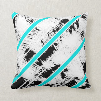 Modern Casual Striped Throw Pillow