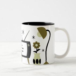 Modern cat coffee mugs