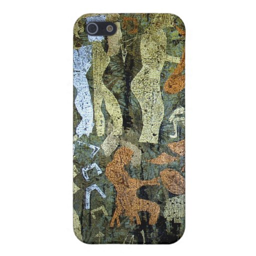 Modern Cave Painting Case For iPhone 5
