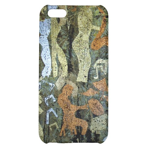 Modern Cave Painting Cover For iPhone 5C
