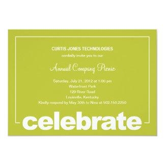 Modern Celebration Corporate/Business Party Invite