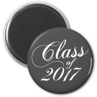 Modern Charcoal | Graduation Magnet