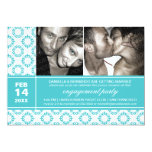 """Modern Charm Engagement Party Invitations 5"""" X 7"""" Invitation Card"""